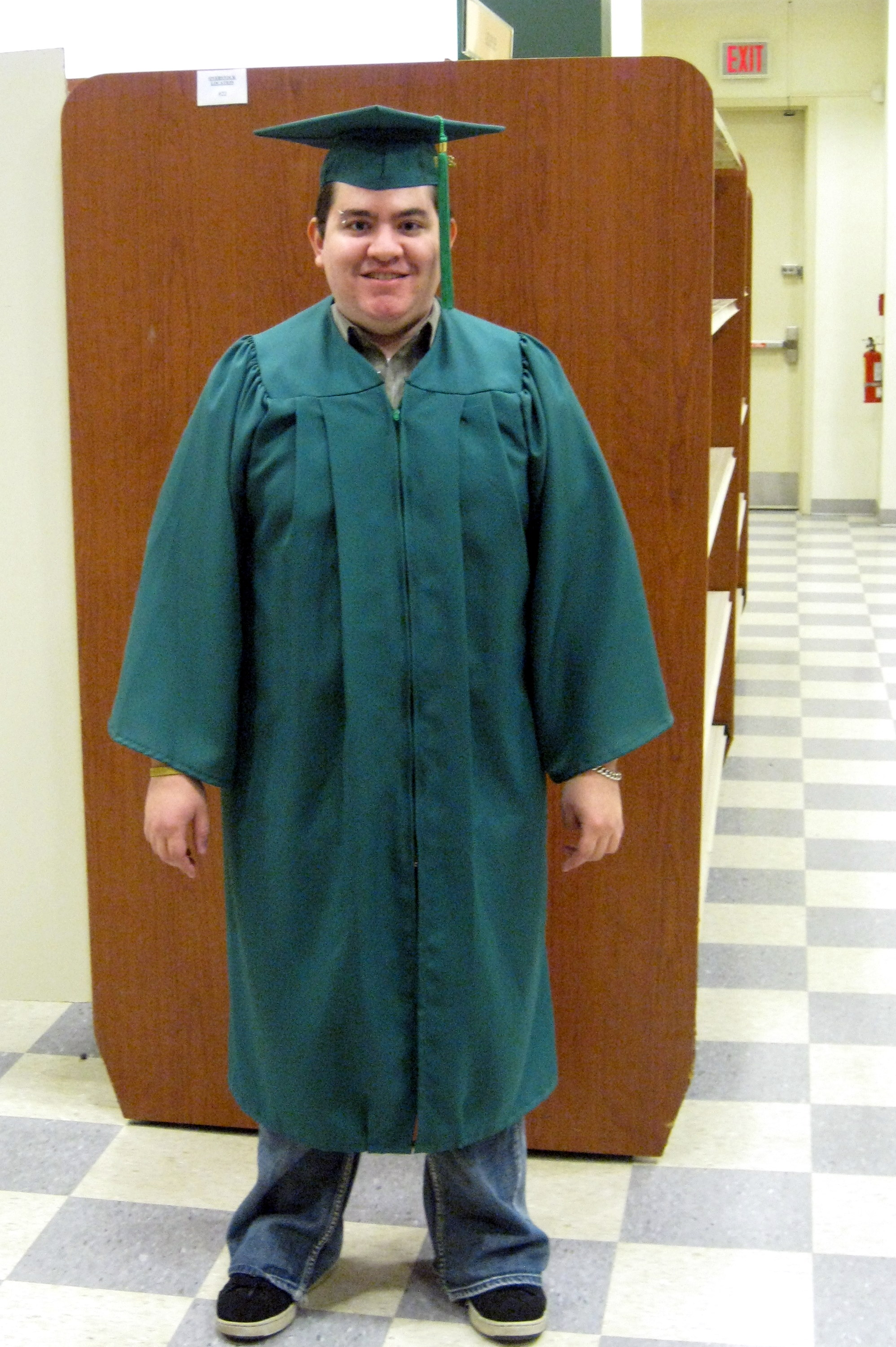 Green' graduation gowns to be used this year | Connect2Mason