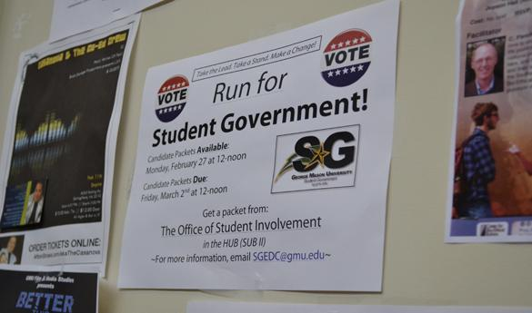 Campaigning officially began Monday, March 19. (Jake McLernon)