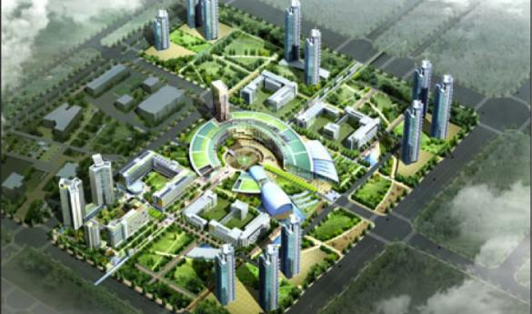 The new GMU Korean campus will be in the Songdo Global University Campus in Incheon, South Korea (photo courtesy of George Mason University).