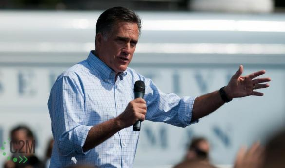 Governor Romney will visit Mason one day prior to Election Day. (Photo by Dakota Cunningham)