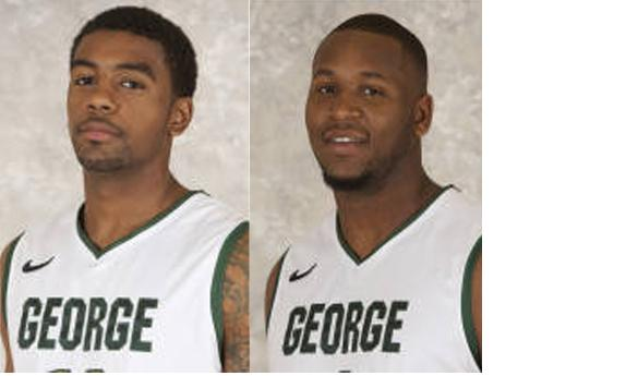 Vaughn Gray (left) and Erik Copes will be suspended from the first three games of the season. (Photos courtesy of Mason Athletics)