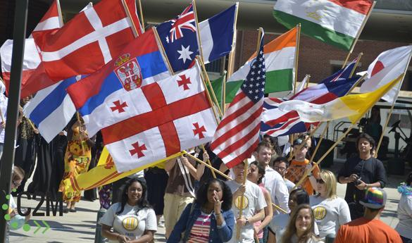 International Week at Mason is one of the many events put on by University Life. (Photo courtesy of Jake McLernon)