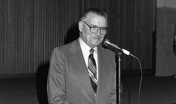 James Buchanan retired as professor emeritus in 1999 (Photo courtesy of George Mason University).