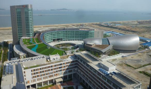 Mason's Songdo campus is expected to be open by 2014 (photo courtesy of George Mason University Office of Global and International Strategies).