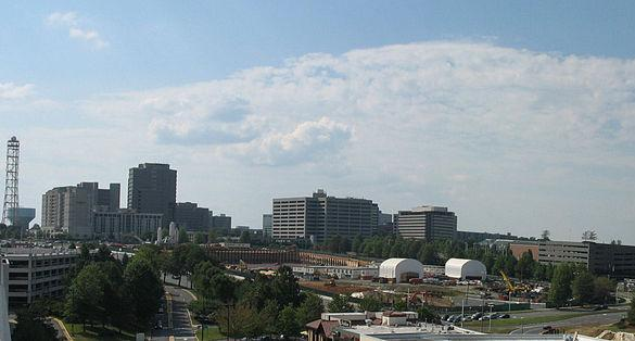 Mason officials are holding off on a Tysons expansion for the time being (photo courtesy of Wikimedia Commons).