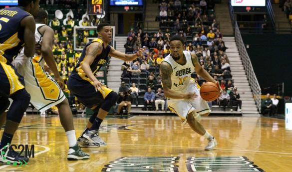 Mason was overcome by Drexel on Jan. 31 by only four points, making the final score 58-54 (photo by John Irwin).