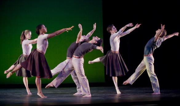 The Mark Morris Dance Group will be performing for two nights at George Mason University's Center for the Arts featuring two former George Mason Univeristy students (photo courtesy of Stephanie Berger).