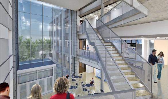 Exploratory Hall will be open for use in fall 2013 (photo courtesy of George Mason University).