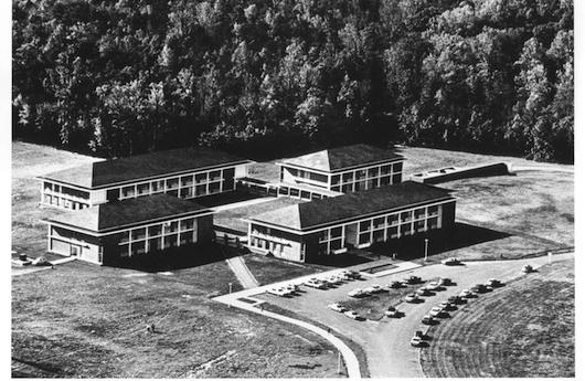 In 1964, George Mason College's Fairfax campus held its first classes (photo courtesy of George Mason University Libraries).