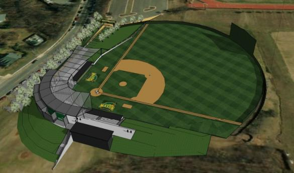 Phase I renovations of Spuhler Field are slated to begin in May (Photo courtesy of Fairfax Campus Advisory Board).