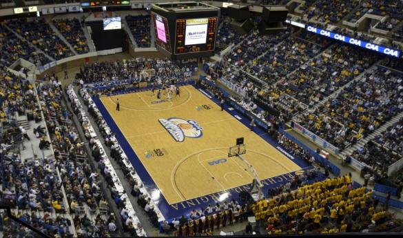 The 2013 CAA tournament will be an emotion one as the Richmond Coliseum hosts its final tournament (Photo by Jake McLernon/MCN).