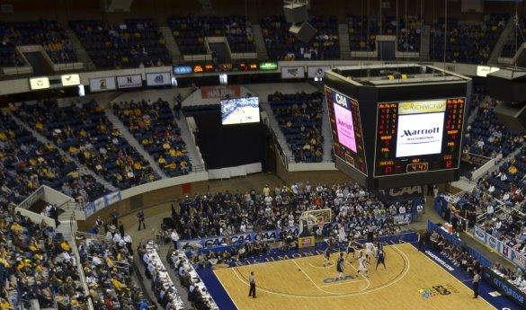 The 2013 CAA Tournament starts today in the final tournament at the Richmond Coliseum (Photo by Jake McLernon/MCN).