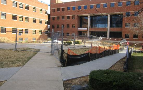 Planetary Hall is one of several construction projects that should be finished for the 2013-2014 school year (photo courtesy of Mason Construction).