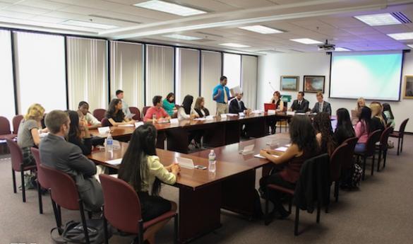 The Mason Student Senate meets every Thursday at 4:30 p.m. in Mason Hall (photo by John Irwin).