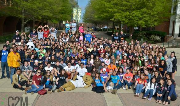 Photo of campus fraternities and sororities (photo by Jake McLernon