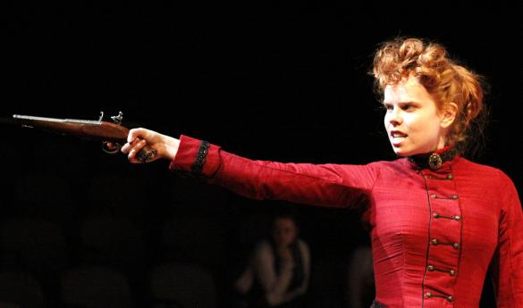 Hedda Gabler, no trigger warnings required (photo by Amy Rose).