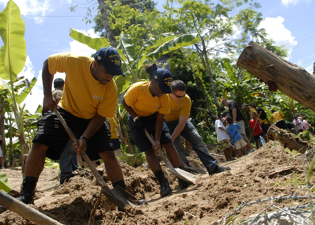 Community service: Giving back to the Community. |